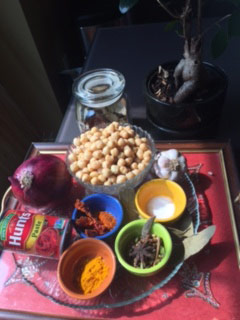 Culture Through Cuisine Issaquah Highlands India Diwali Chole Ingredients