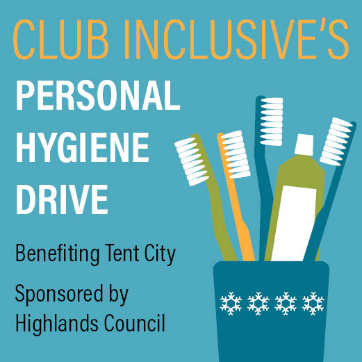 Issaquah Highlands Club Inclusive Personal Hygiene Drive