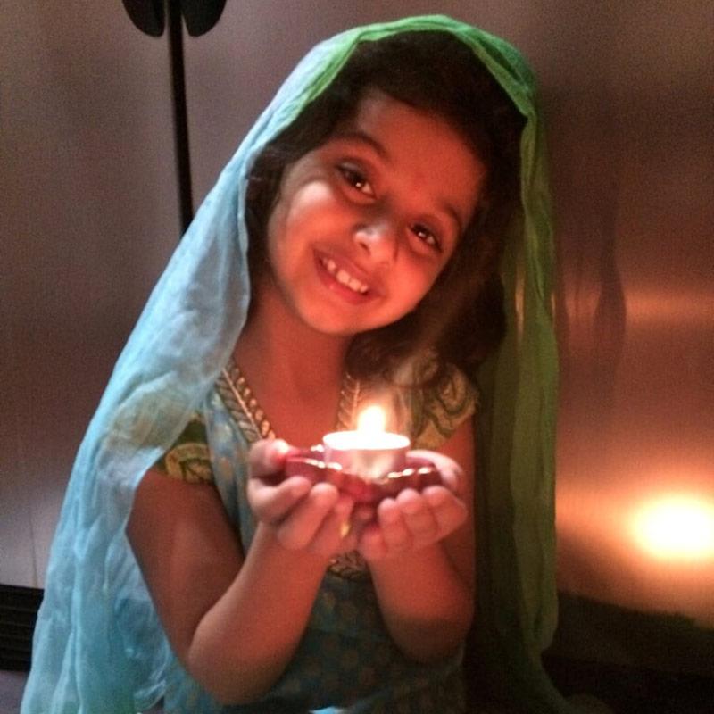 Monisha Chauhan Diwali