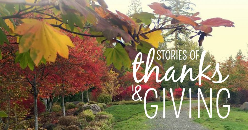 Stories of Thanks & Giving Friendsgiving