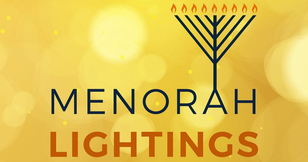 Menorah Lighting at Grand Ridge Plaza 2017