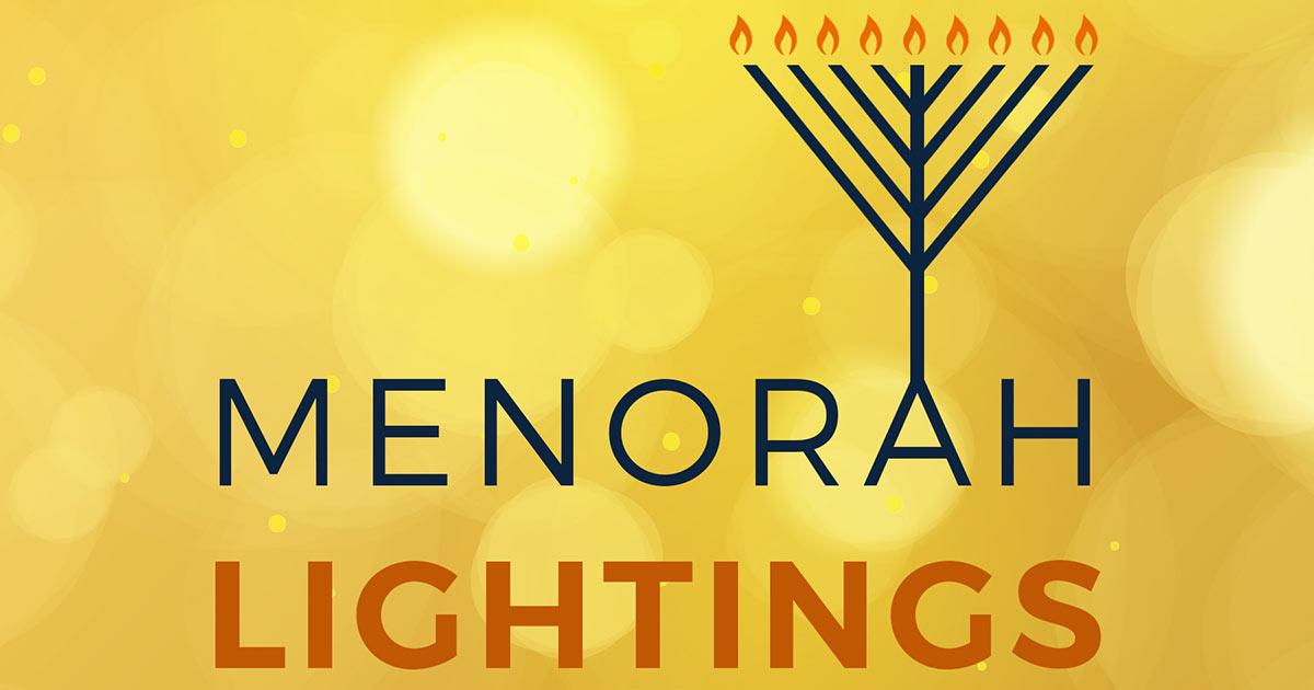 Menorah Lighting at Grand Ridge Plaza 2017