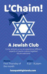 Jewish Club Issaquah Highlands