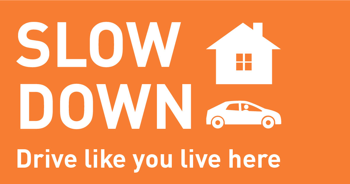 Slow Down: Drive like you live here Issaquah Highlands