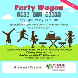 Issaquah Highlands Party Wagon