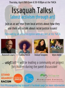 Activism Through Art Issaquah Highlands