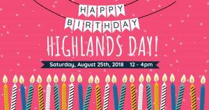 Highlands Day Festival 2018