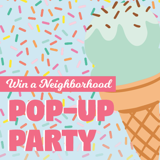Win a Pop-Up Party