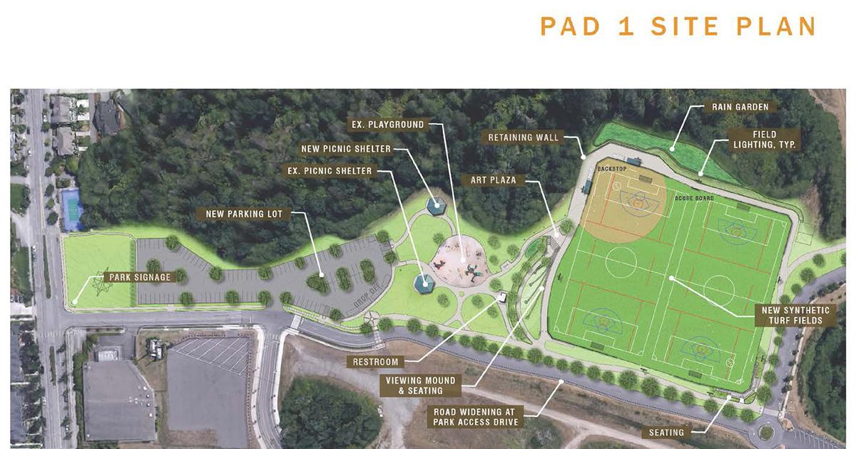 Central Park Pad 1