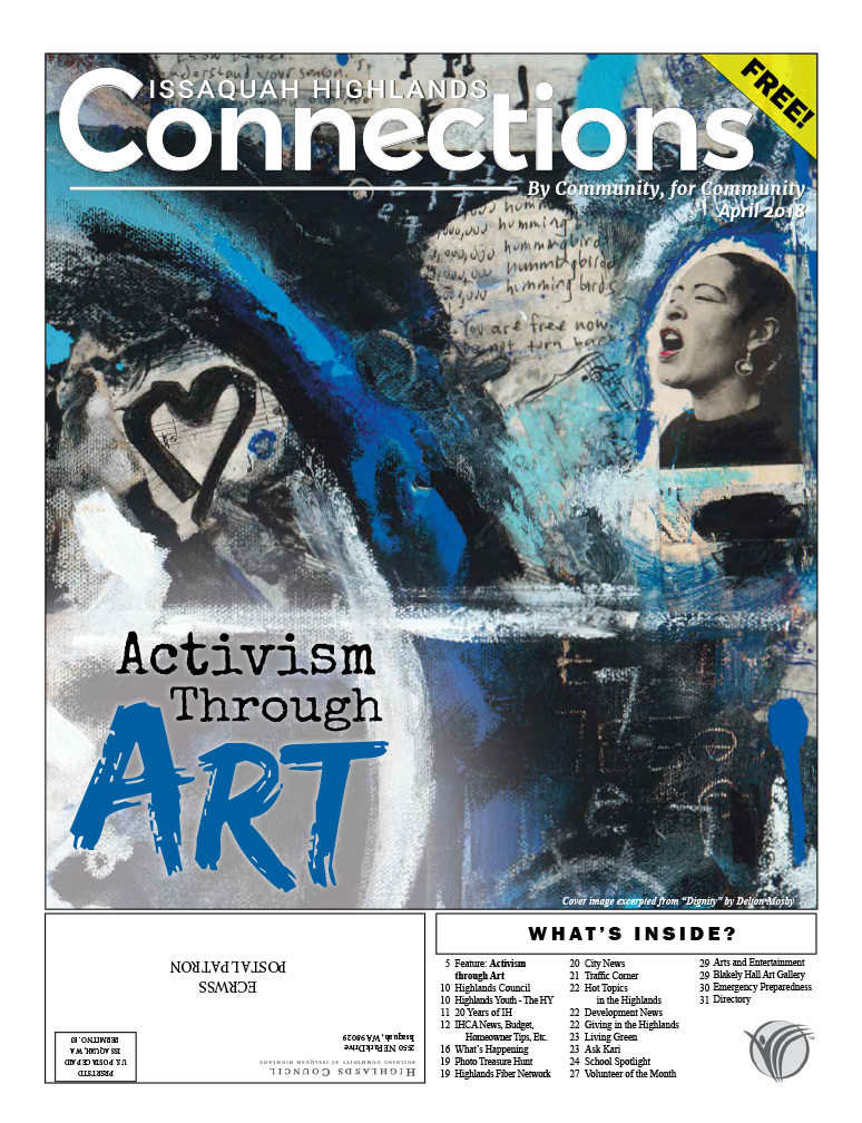 April 2018 Connections Activism Through Art