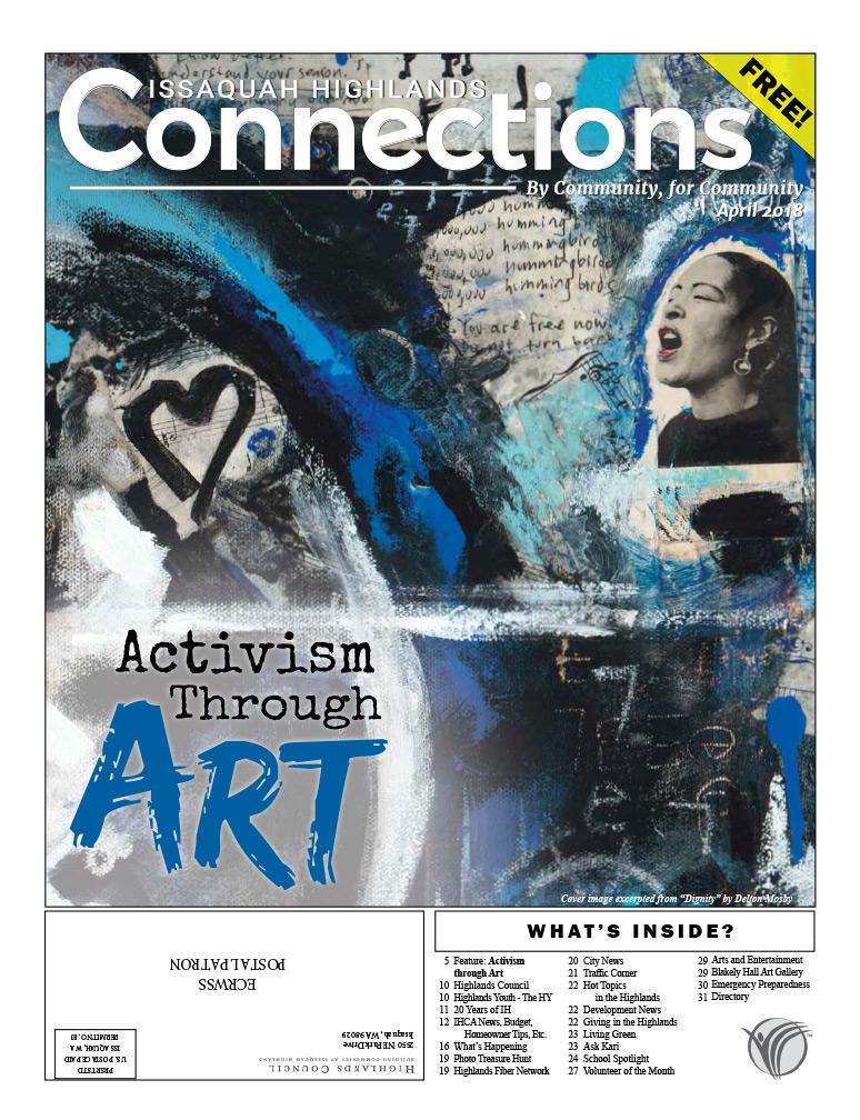 April 2018 Connections Activism Through Art