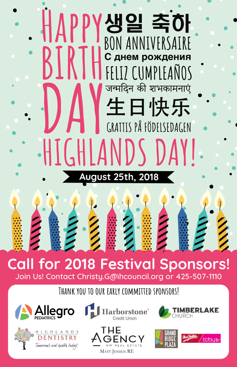 Highlands Day 2018