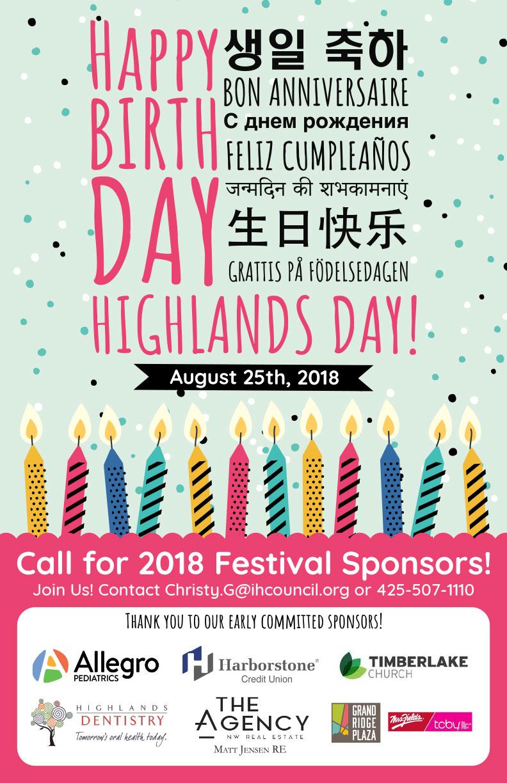 Highlands Day 2018