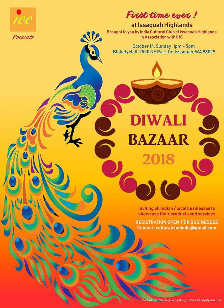 Diwali Bazaar India Culture Club Issaquah Highlands