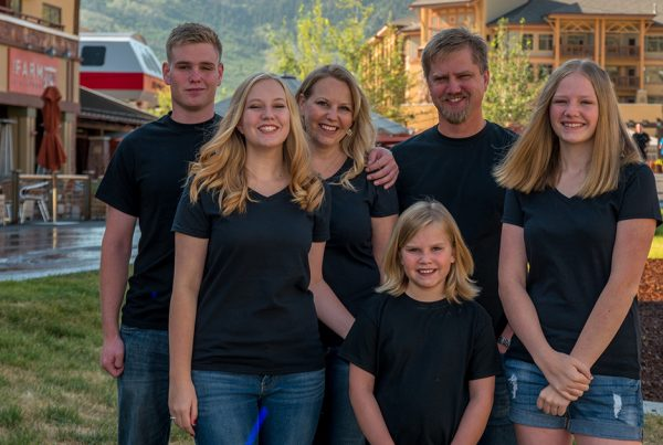 Kathryn Dean and Family