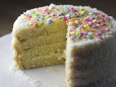 Birthday Cake Eating Contest