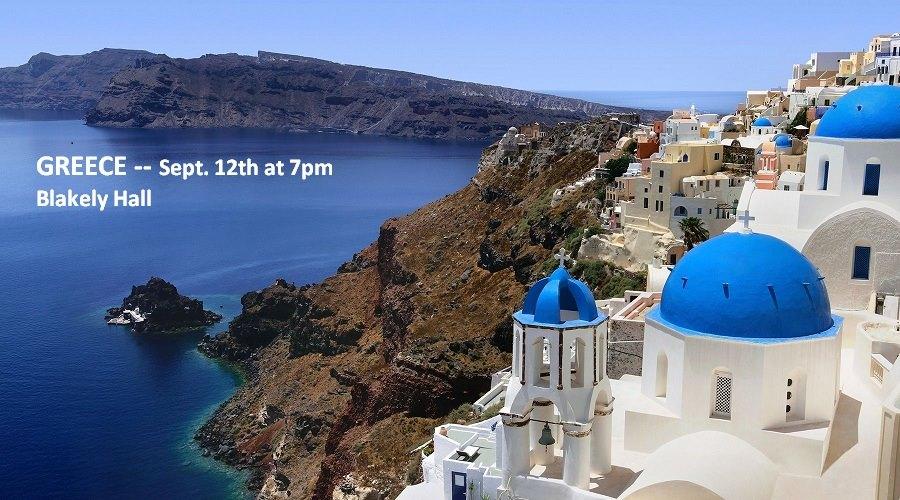 Travel Night Greece