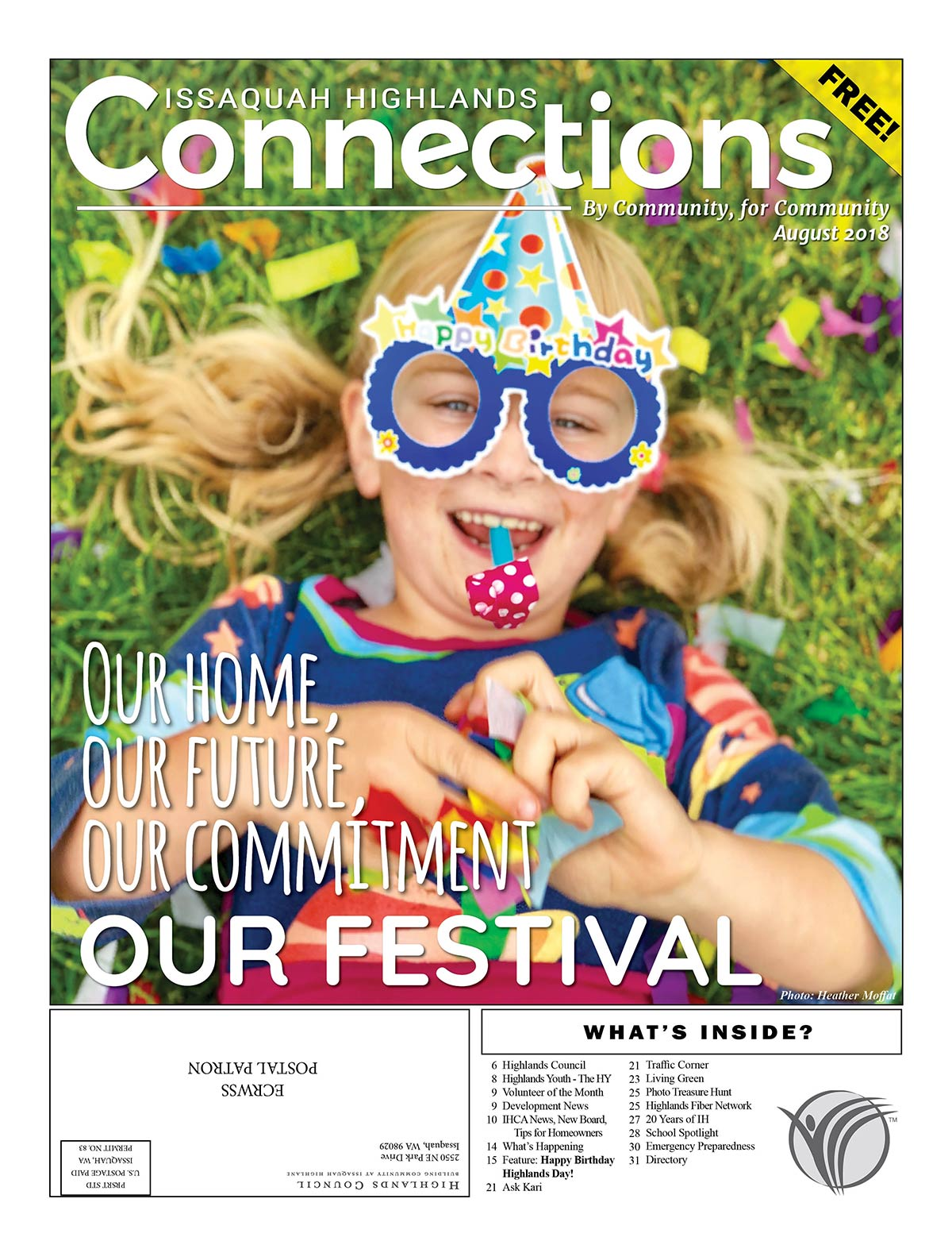 August 2018 Connections Highlands Day