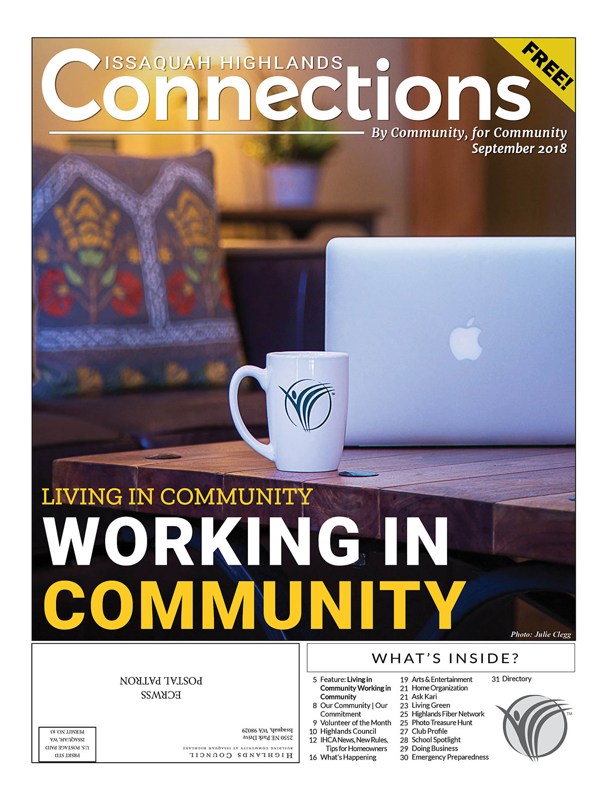 September 2018 Connections