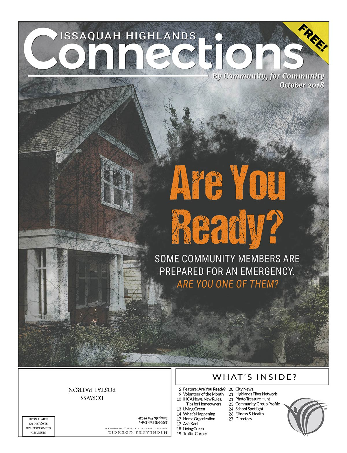 Issaquah Highlands Connections October
