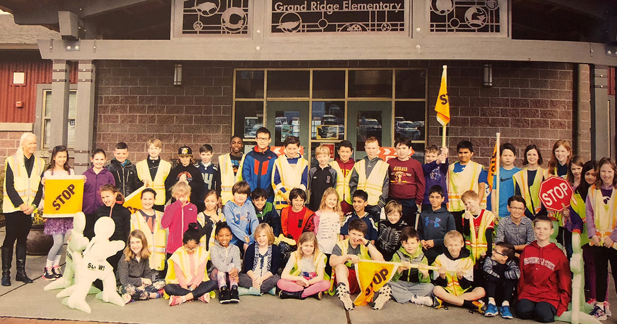 2018 Grand Ridge Elementary Safety Patrols