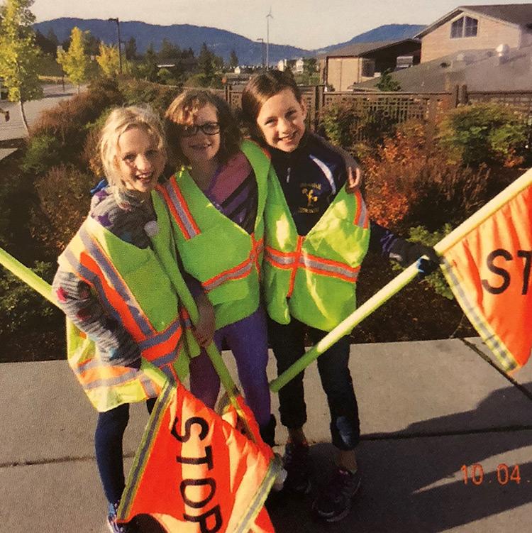 Grand Ridge Elementary Safety Patrol