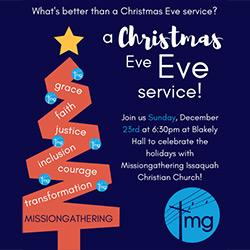 Missiongathering Issaquah Christmas