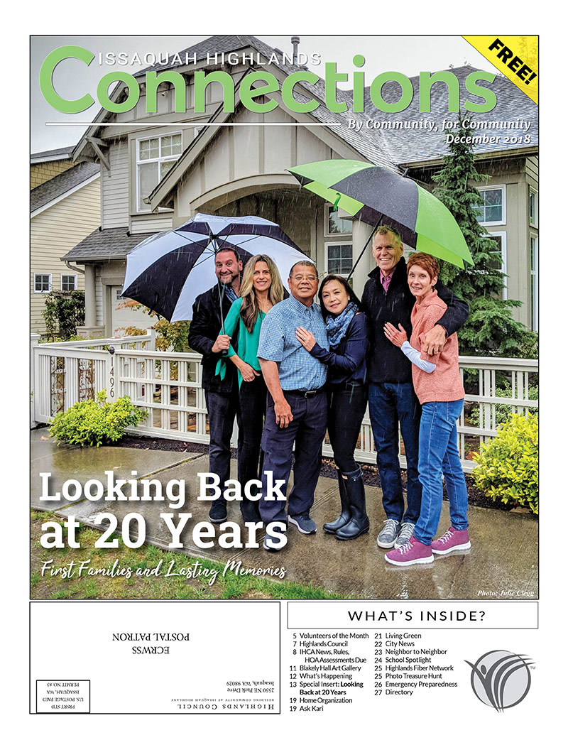 Connections 2018 Issaquah Highlands 20 Years