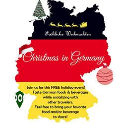 Travel Night German Christmas