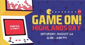 Game On! Highlands Day 2019