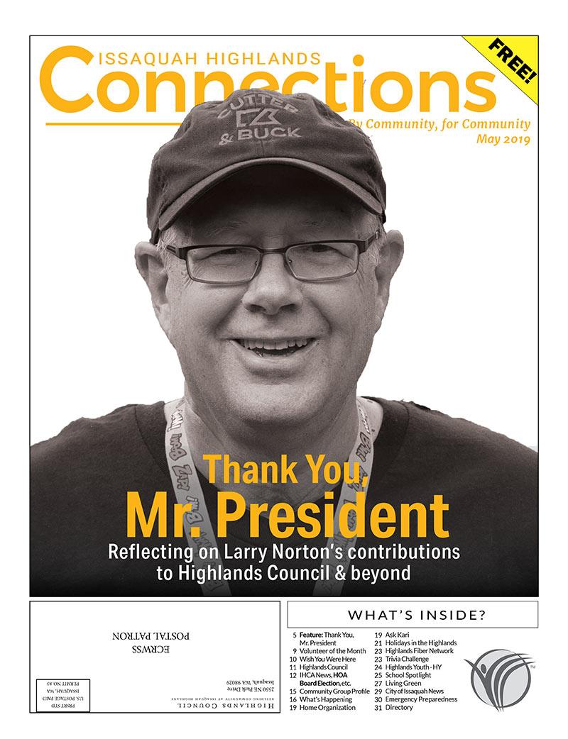 2019 Connections Larry Norton