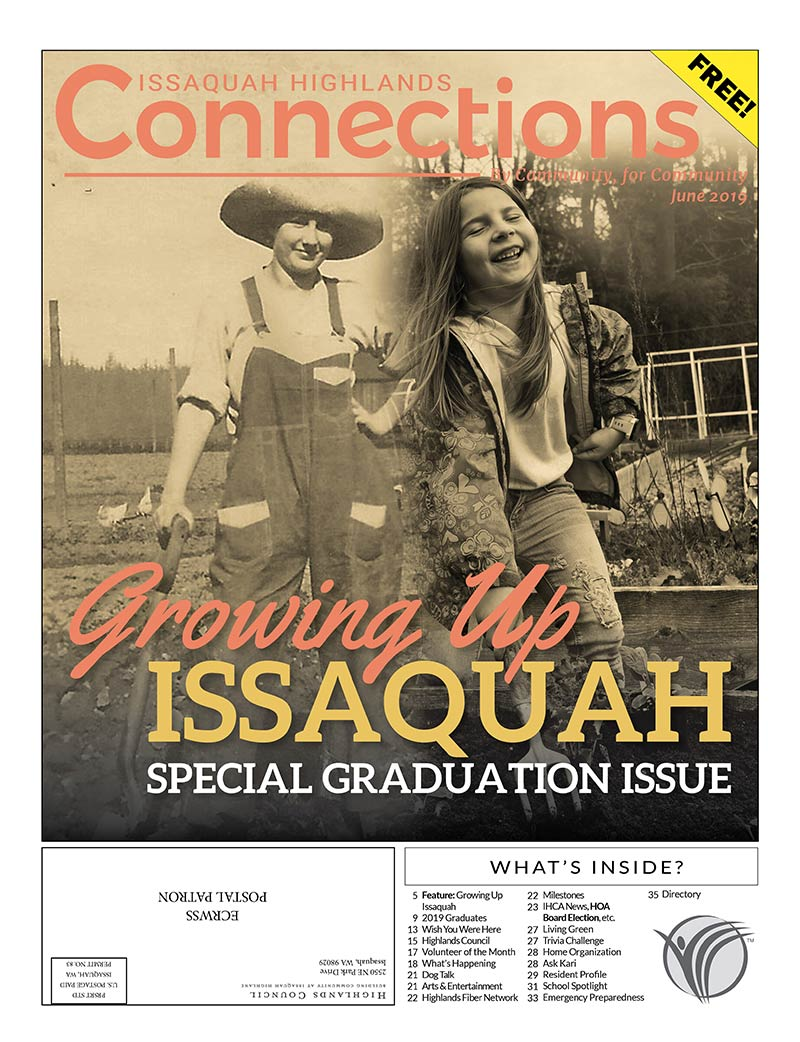 Issaquah Highlands Connections News June 2019 Cover