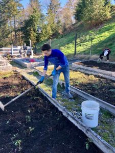 Jason Bone Mazak Issaquah Highlands community garden