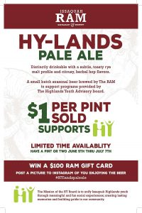 RAM Brewery Issaqauh HY-Lands Pale Ale