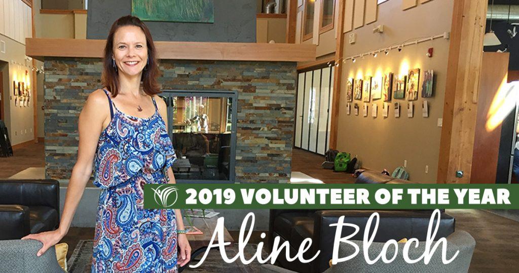 2019 Issaquah Highlands Volunteer of the Year Aline Bloch