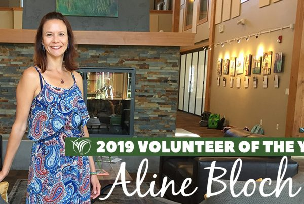 2019 Issaquah Highlands Volunteer of the Year Aline Bloch