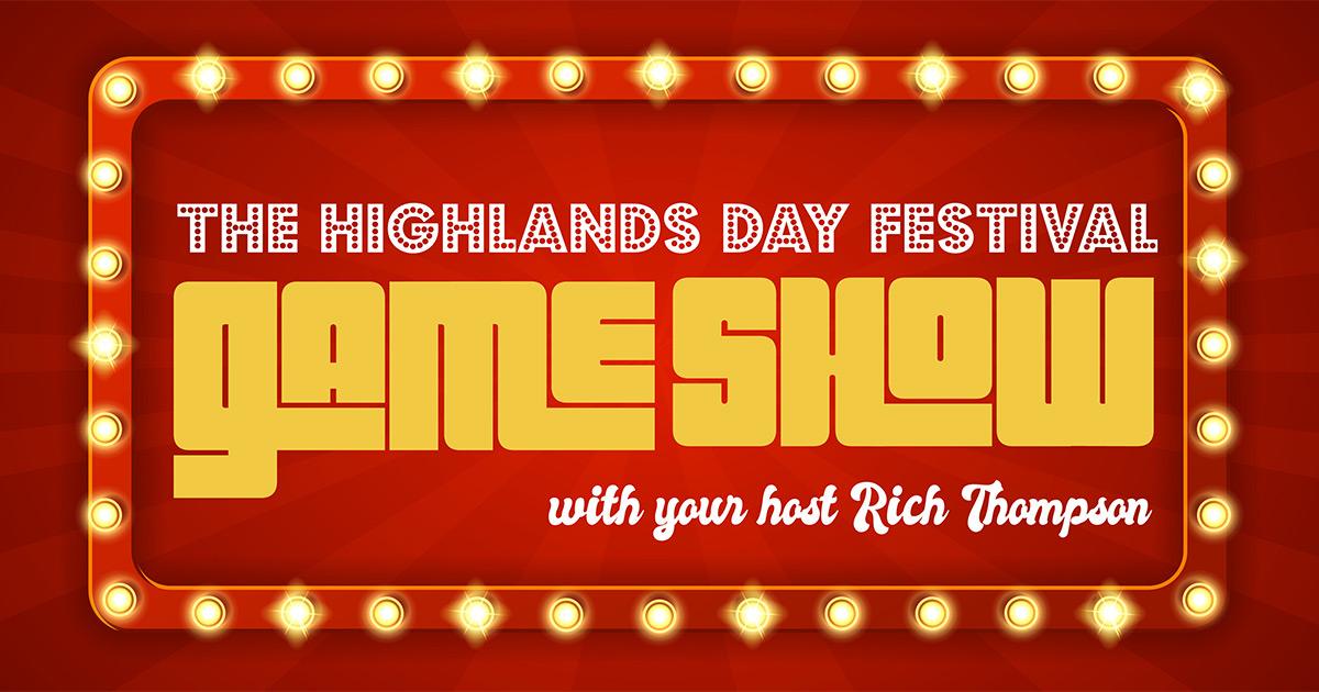 Highlands Day Festival Game Show
