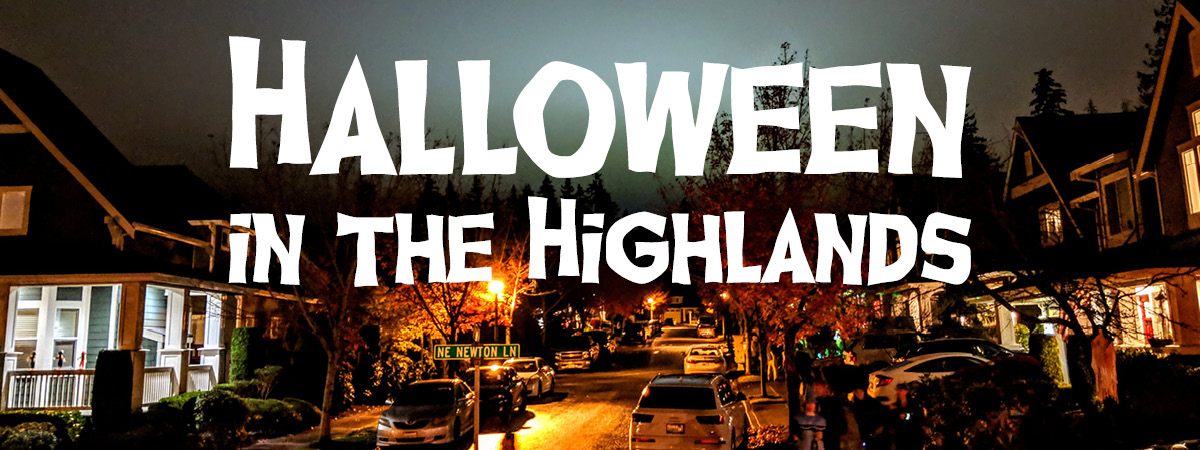 Issaquah Highlands Halloween Traditions