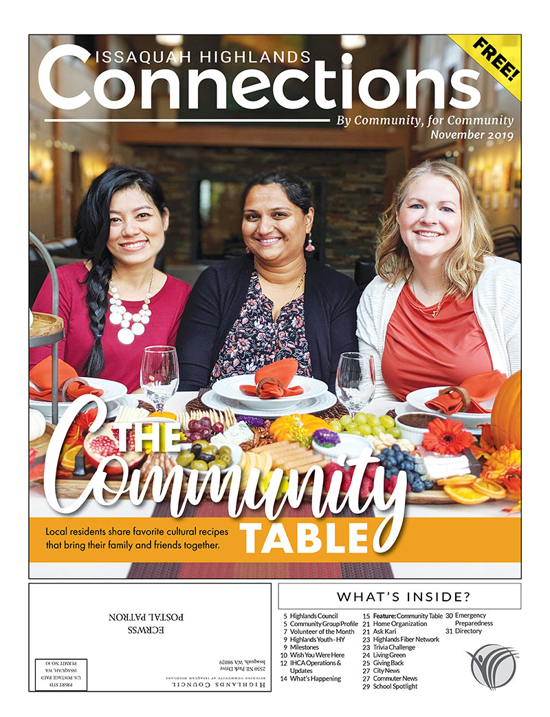 November 2019 Connections