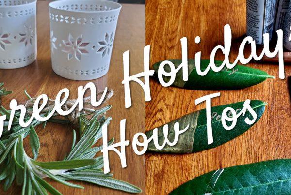 Green Holidays Issaquah Highlands Crafts