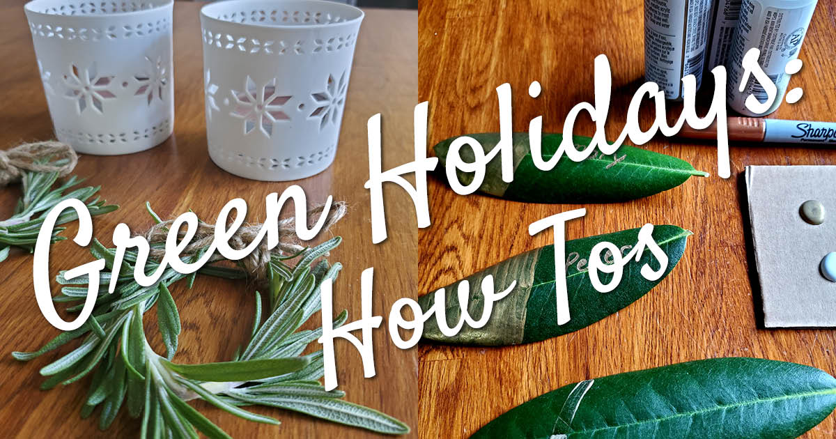 Green Holidays Issaquah Highlands Crafts