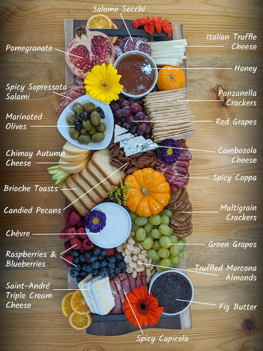 November Connections Charcuterie Board