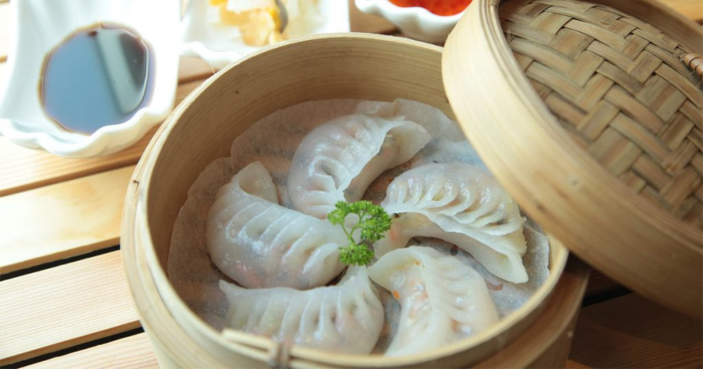 Lunar New Year dumplings