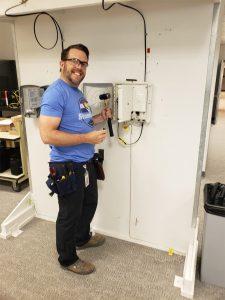 Jeremy Fallt HFN Fiber Installation
