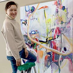 Artist Soo Hong