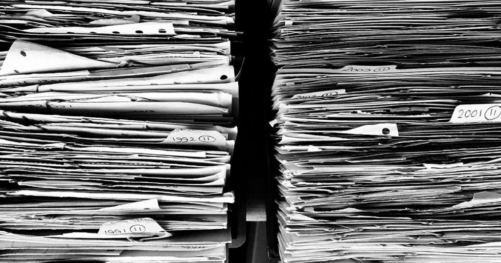 Home Organization Files Finances