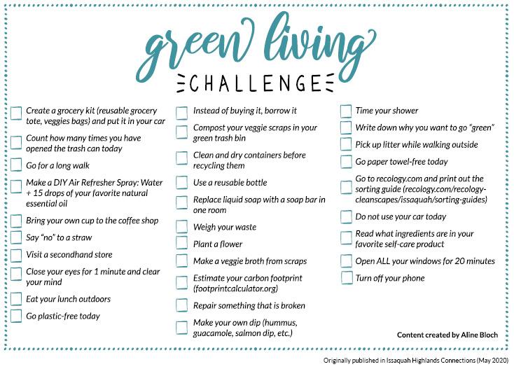 Living Green Challenge