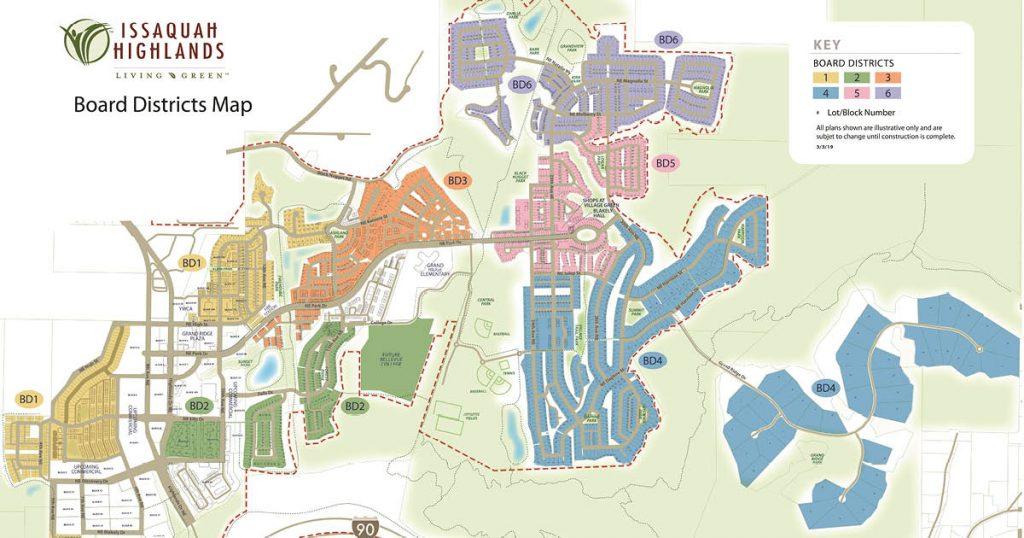 IHCA Board District Map