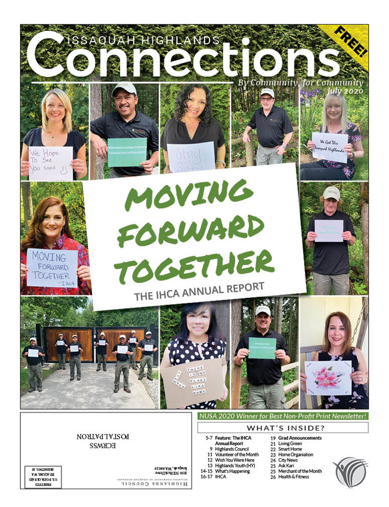 Issaquah Highlands Connections July 2020
