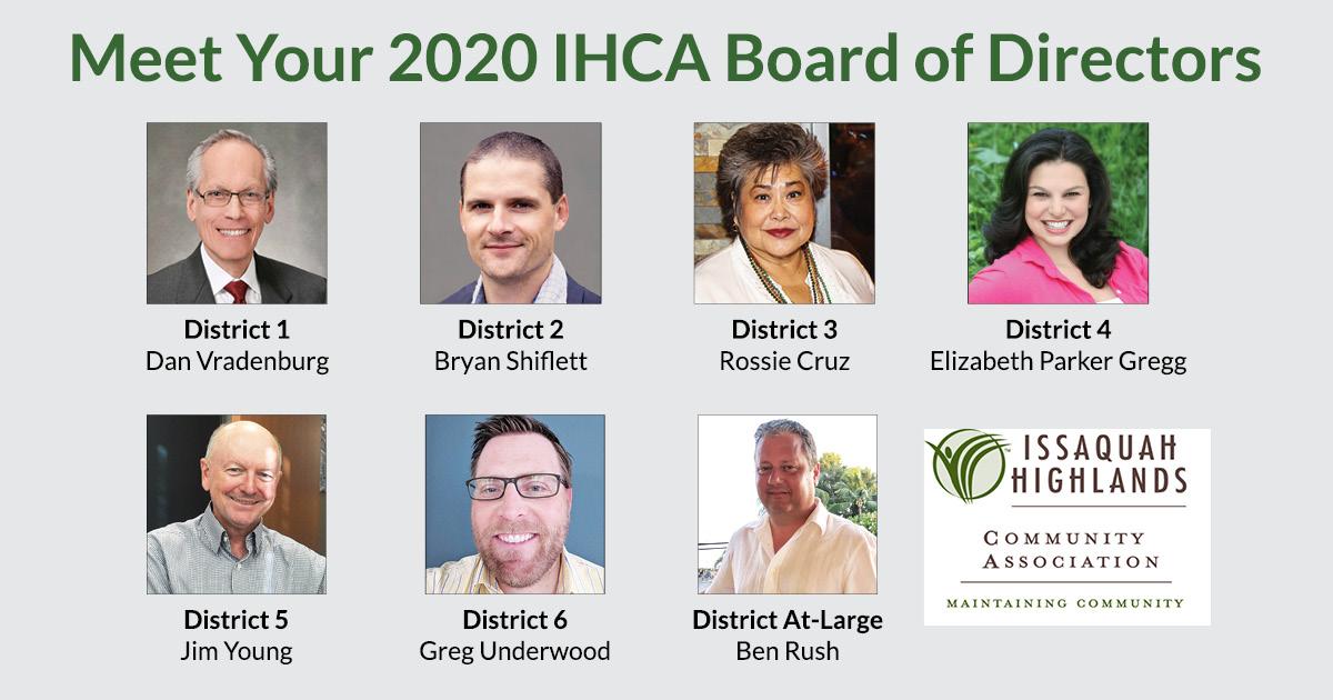IHCA 2020 BOD Resuls